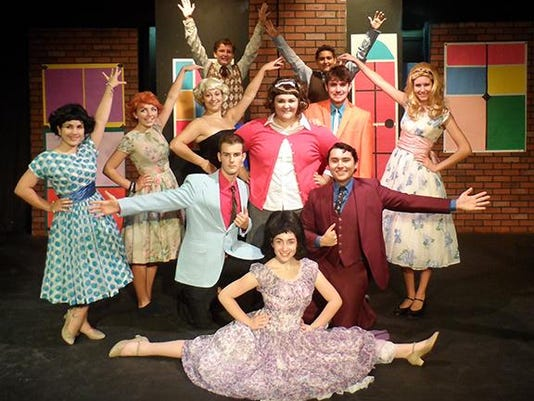 Hairspray Newspaper Photo