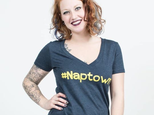 #Naptown tee from the Felicia Tees line at Boomerang Boutique on Mass Ave.