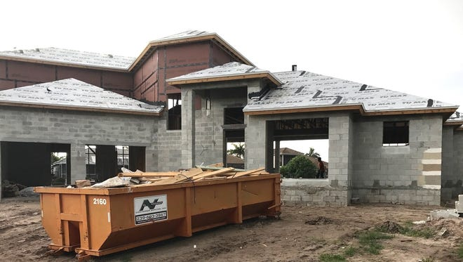 Nova Homes of South Florida has a new custom home underway on Wales Court on Marco Island.