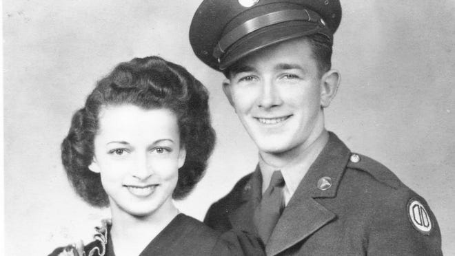Arthur Barry won a silver star for his actions in World War II then returned to his home in New York state and raised a family with his wife, Margaret. Barry's dog tags recently were found buried in the ground at Fort Polk.