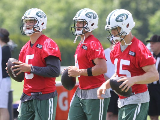 New York Jets Mini-Camp.