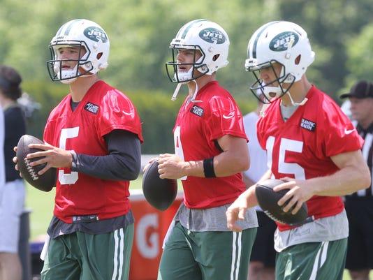 New York Jets Mini-Camp.