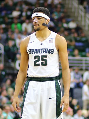 Michigan State's Kenny Goins during the game against Maryland-Eastern Shore in the first half of MSU's 78-35 win at the Breslin Center.