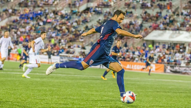 FILE -- Eamon Zayed of the Indy Eleven.