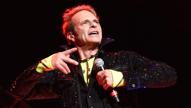 David Lee Roth performs Wednesday with Van Halen at Klipsch Music Center.