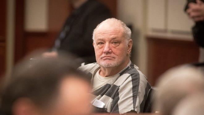 Tim Nolan in court Thursday.