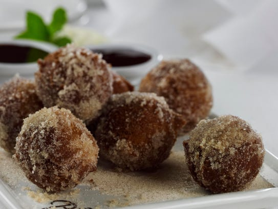 At The Palm, you can get warm doughnut bites rolled