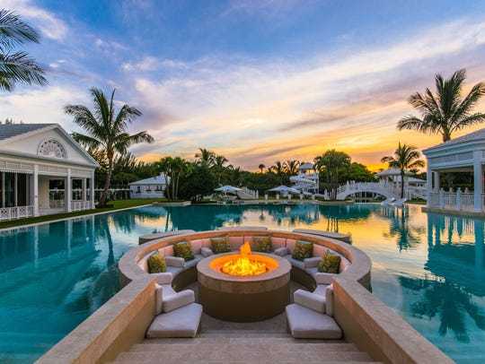 Pricey real estate on Jupiter Island includes the former