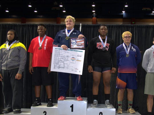 Wakulla senior wrestler Jacob Marin won a Class 1A state title at heavyweight on Saturday night in Kissimmee to become the sixth War Eagles champion all-time.