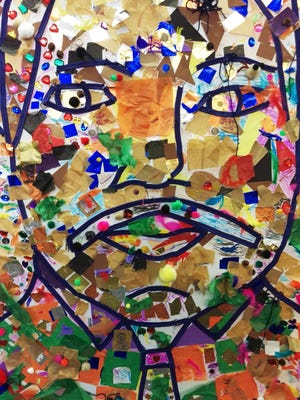 Each year, the Children's Museum of Manhattan marks MLK Day with a  collaborative art project.