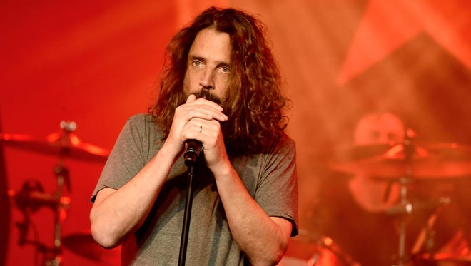 """The late Chris Cornell, former frontman for Soundgarden, was nominated for best rock performance for """"The Promise."""""""