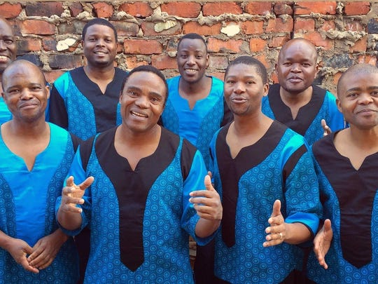 Grammy Award winners Ladysmith Black Mambazo will perform Thursday at State Theatre of Ithaca.