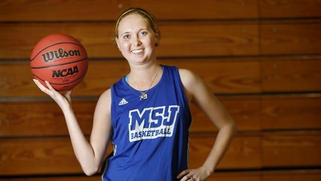 St. Joseph College freshman basketball player Lauren Hill.