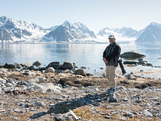 Conservationist and writer Carl Safina on Amsterdamøya,