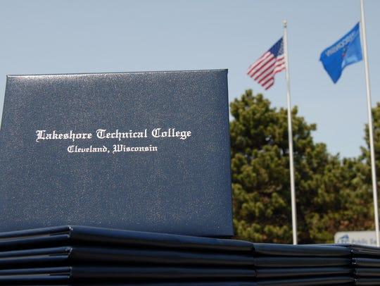 Lakeshore Technical College graduation