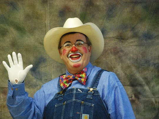 "Walter Fast aka ""Speedy the Clown"" is ""Clown President"" of the ""Clown Unit"" of the Al Chymia Shrine Temple."