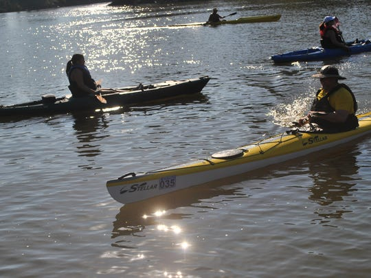 River Rat Paddle Challange is an annual event.