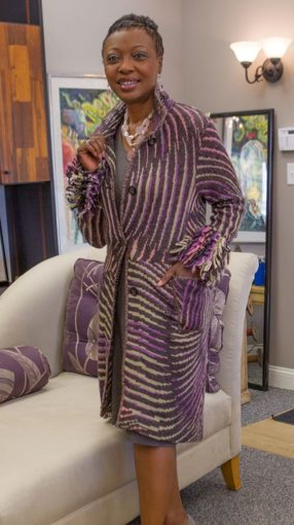 Tynetta Brown, 52, rocked her fashion shoot at Great