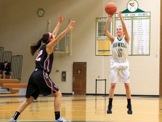 Alexis Miller has led Howell to an 8-0 start, averaging