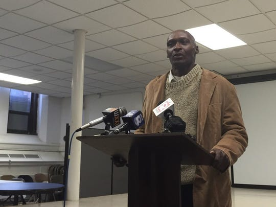 Reggie Thomas, who was homeless last winter, talks about how advocates helped him get his own apartment.