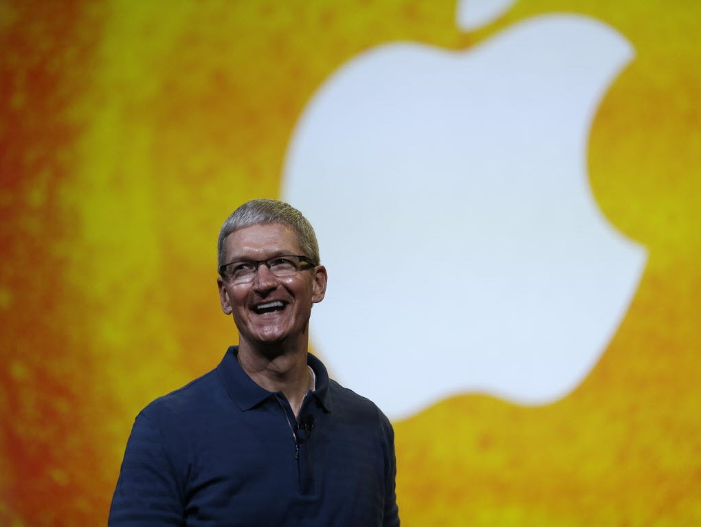 In this Tuesday, Oct.  23, 2012, file photo Apple CEO Tim Cook speaks during an event to announce new products in San Jose, Calif. Apple CEO Tim Cook sought to assure shareholders Wednesday, Feb. 26, 2013, that the company is working on some