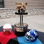 Mark Stoops and Bobby Petrino talked Cats-Cards on Wednesday, six months before the actual Governor's Cup rivalry game.
