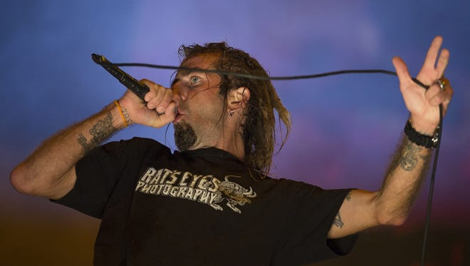 Randy Blythe will perform with Lamb of God on Jan. 29 at Old National Centre.