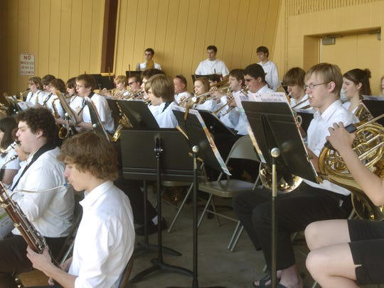 Concerts by the Stevens Point City Band will be highlighted