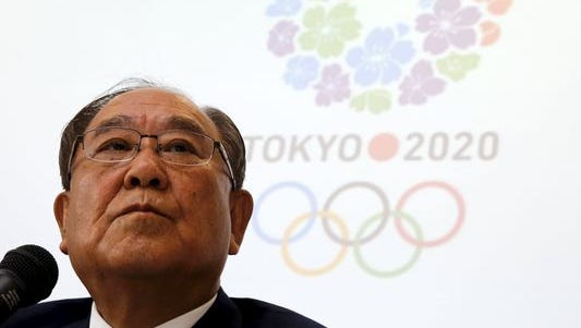 Fujio Mitarai, Chair of the Tokyo 2020 Additional Event Programme Panel and Canon Inc. Chairman and Chief Executive Officer, attends a news conference after the meeting of the Tokyo 2020 Olympic Games Additional Event Programme Panel