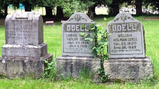 Three headstones stand sentinel in a small clearing on the east side of Lee Mission Cemetery, which is located on D Street NE in Salem and was placed on the National Register of Historic Places in 1978.