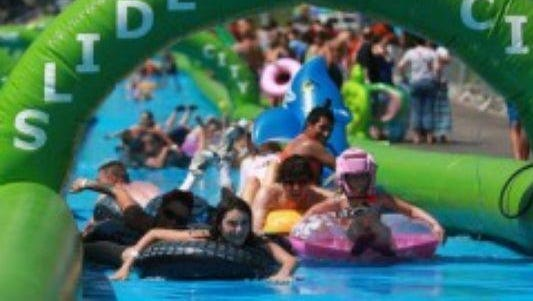 Slide the City will come to Greece on August 22.
