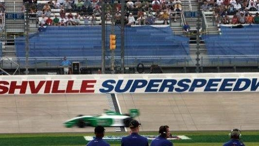 The status of a pending sale of the Nashville Superspeedway is uncertain.