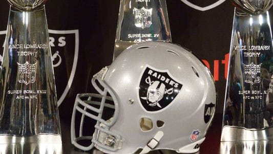The Raiders won two of their three Super Bowl trophies in Oakland.