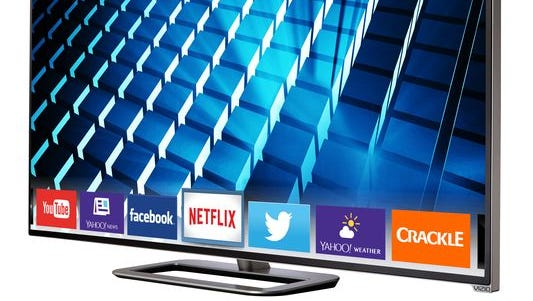 TVs like the Vizio M-Series 70 Smart TV allow customers to connect Internet to TV.