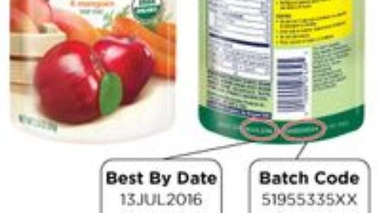 Gerber has voluntarily recalled some pouches of baby food.