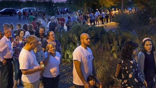 Thousands of voters across the Valley waited in line for hours to vote in the March presidential primary.
