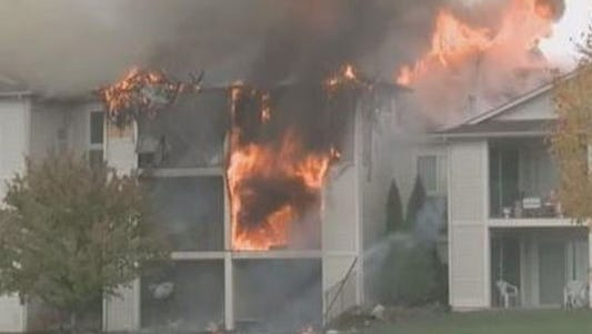 October 2012 fire at Clearview Apartments caused more than $2 million in damage.