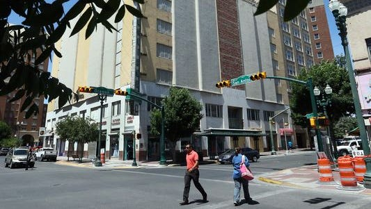 The 95-year-old, seven-story American Furniture building at Oregon Street and San Antonio Avenue near the Plaza Theater and the Camino Real Hotel in Downtown El Paso, is at the center of a city code legal battle.