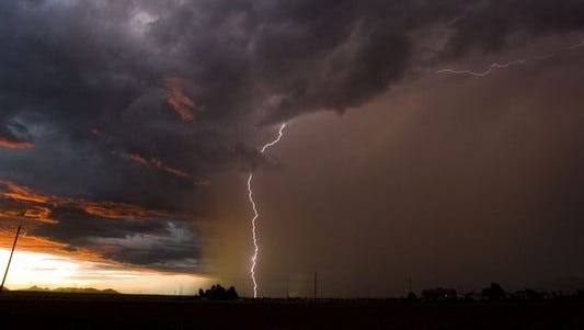 Arizona's monsoon can bring severe thunderstorms and dust storms.