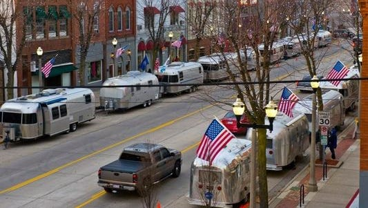 Urban Air, an annual event during which owners of vintage Airstream travel trailers camp in downtown Eaton Rapids, begins Thursday, Sept. 22, and runs through Sunday morning.