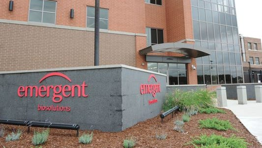 Emergent BioSolutions, located at 3500 N. Martin Luther King Jr. Blvd., cut 91 jobs this week after it automated the manufacturing process of producing the anthrax vaccine it makes.