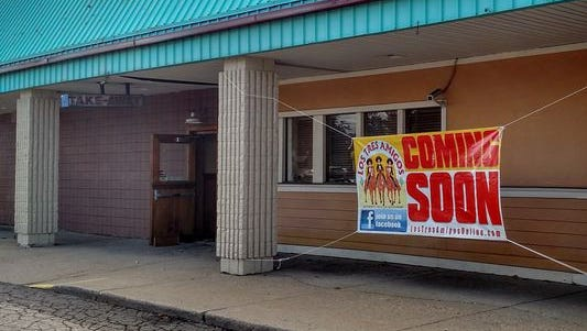The site of the proposed new Los Tres Amigos at Five Mile and Middlebelt in Livonia. The owner hopes to open early next year.