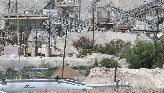 This is the Cemex plant at McKelligon and Alabama in Northeast El Paso. It is part of a $306 million sale of facilities to GCC of Chihuahua City.