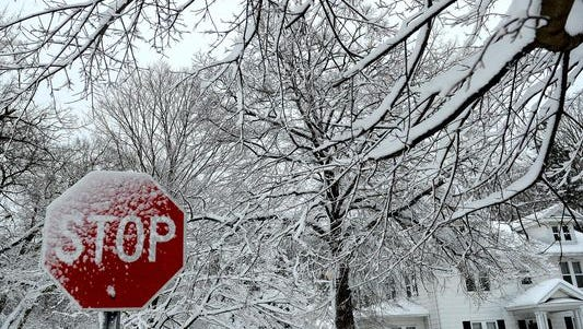 Winter weather has resulted in school closings across Livingston County and  a National Weather Service winter weather advisory through 3 p.m. Wednesday.