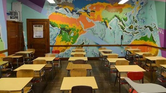 A mural created for Covington Independent Schools