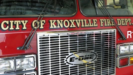 City of Knoxville firetruck.