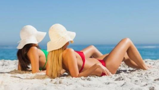 Sunbathing increases your risk of skin cancer; the main cause of melanoma is exposure to ultravioletrays from the sunlight.