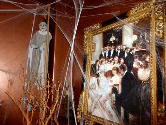 During the month of October, the Asylum Restaurant,