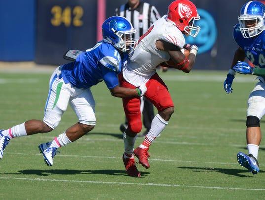 UWF Football vs West Alabama 9