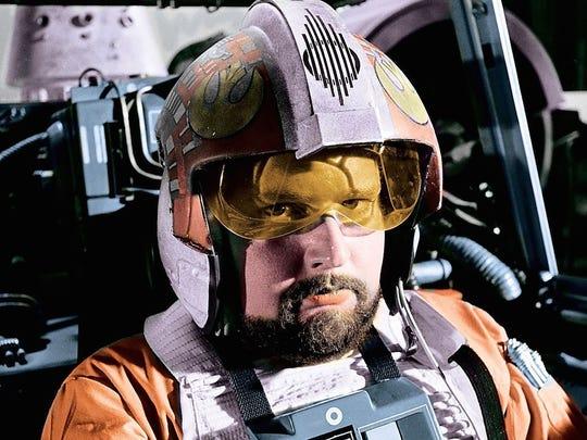 "Jek Porkins (William Hootkins) had a memorably short run on the Death Star in the original 1977 ""Star Wars."""